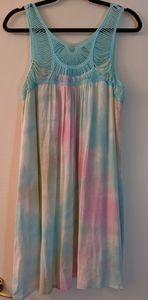 Entro Pastel Tie Dye Summer Dress